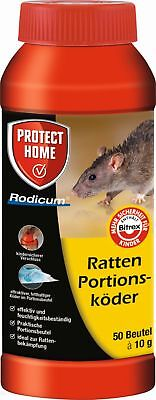 Protect Home Rodicum Ratten Portionsköder 500g Ratte