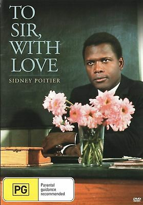 To Sir With Love Region 0 DVD (New)