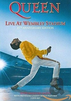 Queen - Live at Wembley 25th Anniversary Region 0 DVD (New)