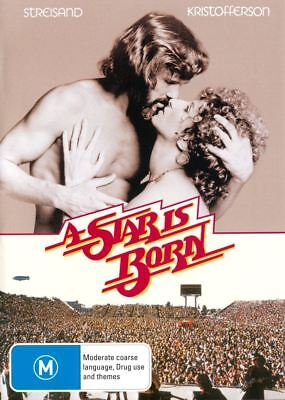 A Star Is Born (1976) Region 2,4 DVD (New)