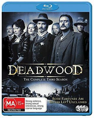 Deadwood: The Complete Third Season Blu-ray Region ABC New