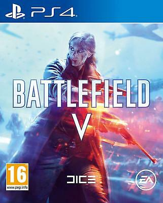 Battlefield V 5 - Sony PS4 Brand New & Sealed - Free 1st Class Tracked Delivery