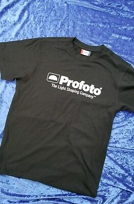 PROFOTO COMPANY SHIRT med in BLACK - Genuine - Great Gift A+