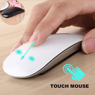 TM-823 Wireless Optical USB Multi Touch Scroll Mouse For Apple Macbook Laptop AU
