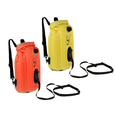 Ultralight Floating Dry Bag Swim Buoy Safety Flotation Device for Open Water