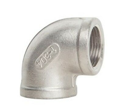 """1/2"""" 316 Stainless Steel 90º Elbow (25 Pieces)"""