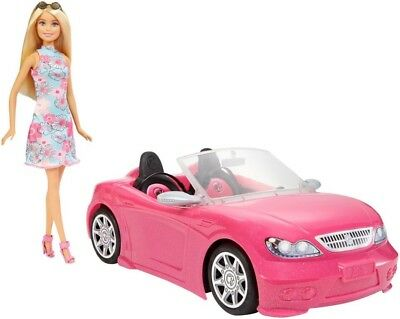 NEW Barbie     Doll And Car from Mr Toys