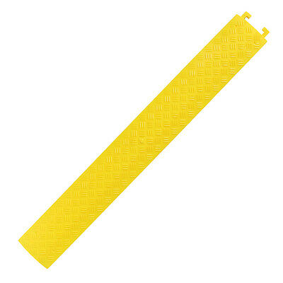 """BISupply   Cord Cover Floor Cable Protector Ramp PVC Cord Protector 40"""" Inch 1pk"""