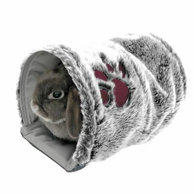 Rosewood Reversible Snuggle Tunnel Rabbits Guinea Pigs Ferrets Luxury Soft Bed