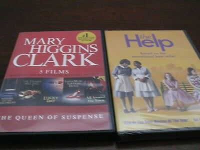 "Mary Higgins Clark - Five films on a DVD--Used-- plus DVD ""The Help""--New--Seale"