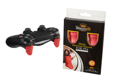 Trigger King - Dual Adjustable Triggers - 2.0 - Sony PS4 Trigger Grip Attachment