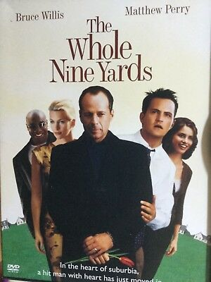 12-64 Dvd Movie, The Whole Nine Yards, Bruce Willis, Matthew Perry, Comedy, Usa