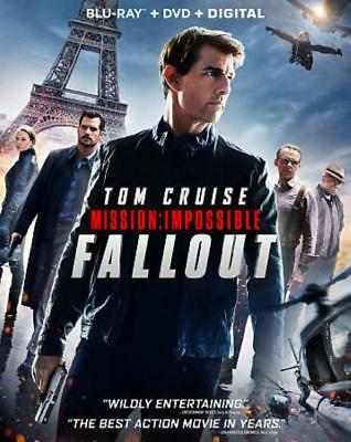 Mission: Impossible - Fallout New Blu-Ray/Dvd