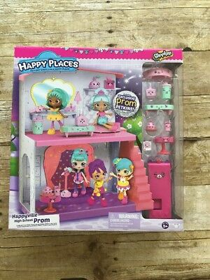 Shopkins Happy Places Happyville High School Prom Extension Playset