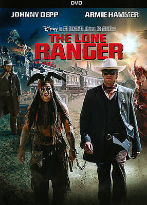 Disney The Lone Ranger (DVD, 2013) - DISC ONLY