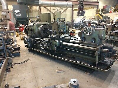 """Lodge Shipley25 x 72 with 11-1/2""""hollow spindle enginelathe"""