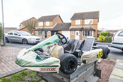 Tony Kart Fullerton Frame X30 Engine For Sale Bargain