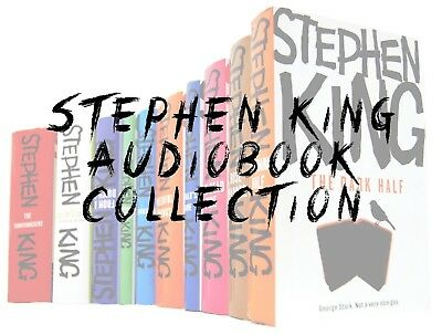 Stephen King Audio Book Collection On DVD - Over 60 Titles Buy Now! Audiobooks