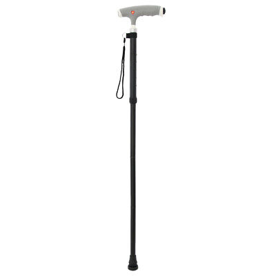 Adjustable Lightweight Easy Fold Aluminum Walking Stick Canes with Led Light