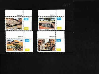 Unmounted Mint / Never Hinged 2011 Southwest Block77 complete.issue. Namibia