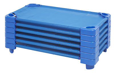 uk availability 08f03 89e84 ECR4KIDS TODDLER STACKABLE Sleeping Cot for Kids, Ready-to-Assemble, (Set  of 6)