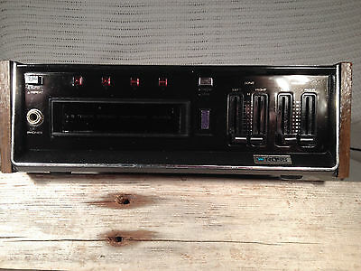 Vintage Ross Solid State 8 Track Cartridge Player Stereo Component