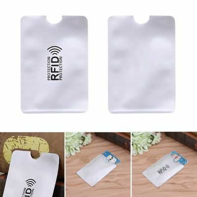 10X Card RFID Blocking Contactless Debit Credit Card Protector Sleeve Wallet l