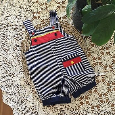 Vintage Handmade Overalls Size 0/1