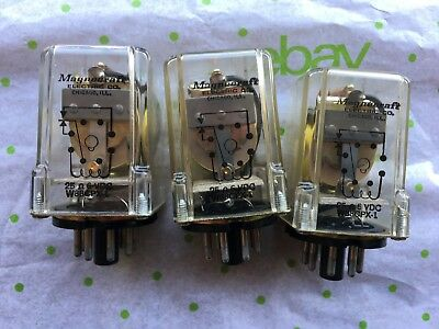 5x Magnecraft relay 24VDC W88CPX7