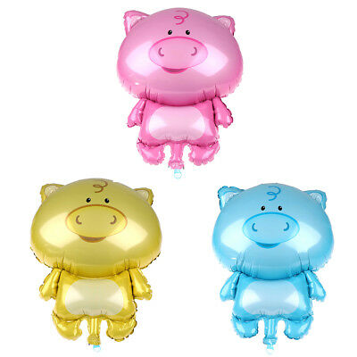 1pc Cute Pig Shaped Animals Balloons Wedding Party Balloons Pig Year Kids Gift W