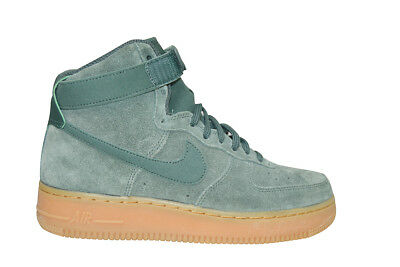 new style 4a42b bc495 Mujer Nike Air Force 1 Alto Se - 860544 301 - Vintage Verde Amarillo  Zapatillas
