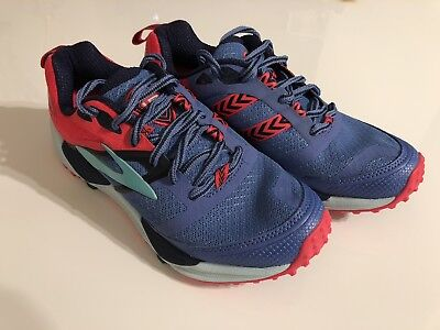1cb62490d58 BROOKS TRAIL RUNNING Shoes Cascadia 12 Women s. purple red blue ...