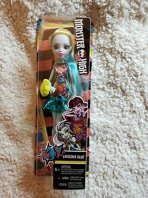 !! Free Shipping!! Monster High- Lagoona Blue Doll. Brand New!