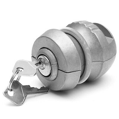 Universal Hitchlock Trailer Hitch Coupling Lock Tow Ball Lock Caravan Lock Alloy