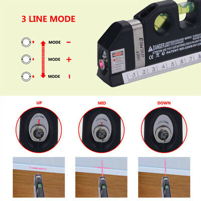 Accurate Multipurpose Lazer Leveling Level Line Wall Measurement Tool UK N
