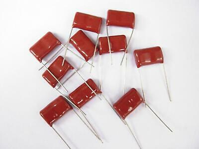 10pc MEA Metallized Polyester Film Capacitor 684 0.68uF K 400V ±10/% Axial AID