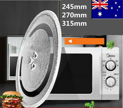 Microwave Oven Platter Turntable Glass Tray Glass Plate Dia 245/270/315mm