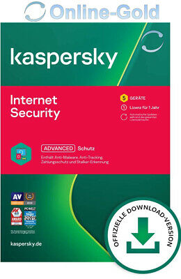 Kaspersky Internet Security 2020 Multi-Device 5 Geräte 1 Jahr 5 USER - EU Region