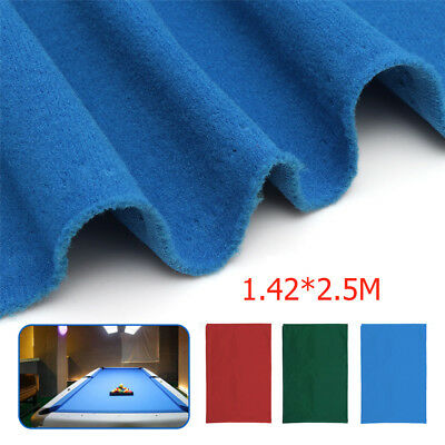 Felt  Snooker Table Accessories Pool Table Cloth For 7ft 8ft Billiard Table