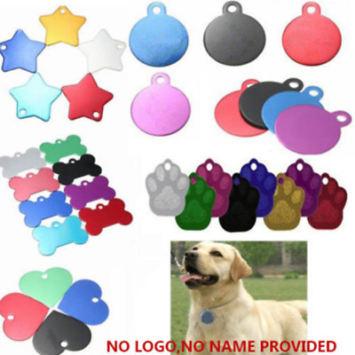 Pet ID Tags Dog Cat Animal Name Necklace Tag Only no engrave service Hot New
