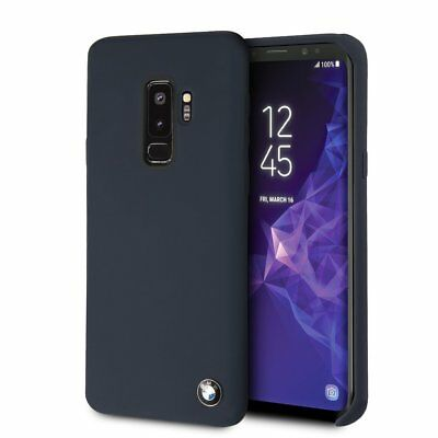 BMW Samsung G965F Galaxy S9 Plus Silikon Optik Hard Cover Handyhülle Schutzhülle