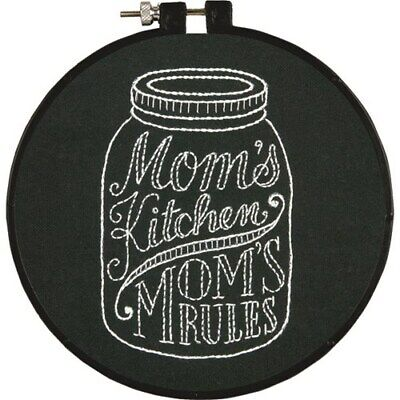 *NEW* Dimensions Stitch Wits Pre-printed Hand Embroidery Kit - Mom's Kitchen