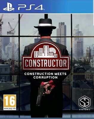 Constructor PlayStation 4 PS4 New and sealed