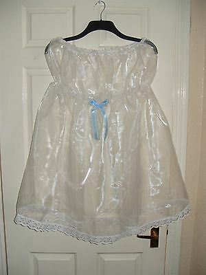 Gorgeous Adult Baby~Sissy~Maids ~ Sexy Sheer Organza Strapless Babydoll