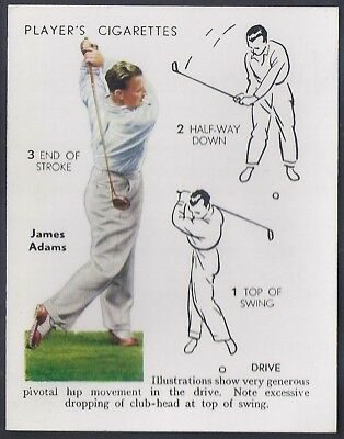Players-Golf (Uk Issue L25)-#01- Drive - James Adams