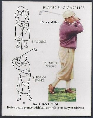 Players-Golf (Uk Issue L25)-#02- Iron Shot - Percy Alliss