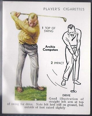 Players-Golf (Uk Issue L25)-#08- Drive - Archie Compson