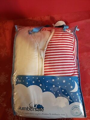 Slumbersafe Winter Kid Sleeping Bag Long Sleeves 3.5 Tog - Firetruck, 3-6 Yrs/XL