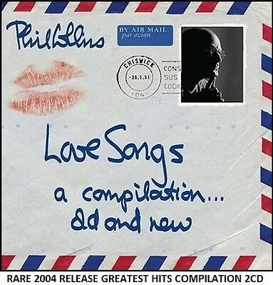 Phil Collins - Very Best Greatest Hits Collection RARE 2CD 80's Love (Genesis)
