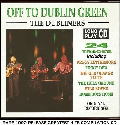 The Dubliners - The Very Best Greatest Hits Collection Traditional Irish Folk CD